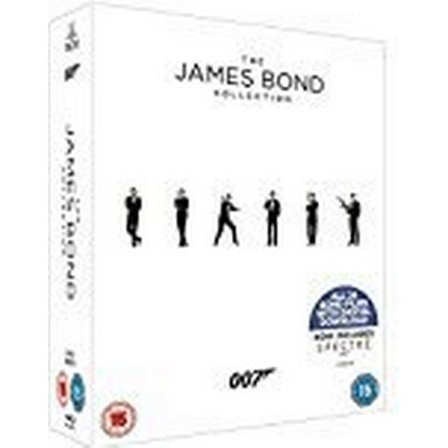 The James Bond Collection 1-24 [Blu-ray] [2017]